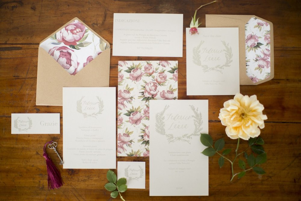 stationary wedding in Umbria