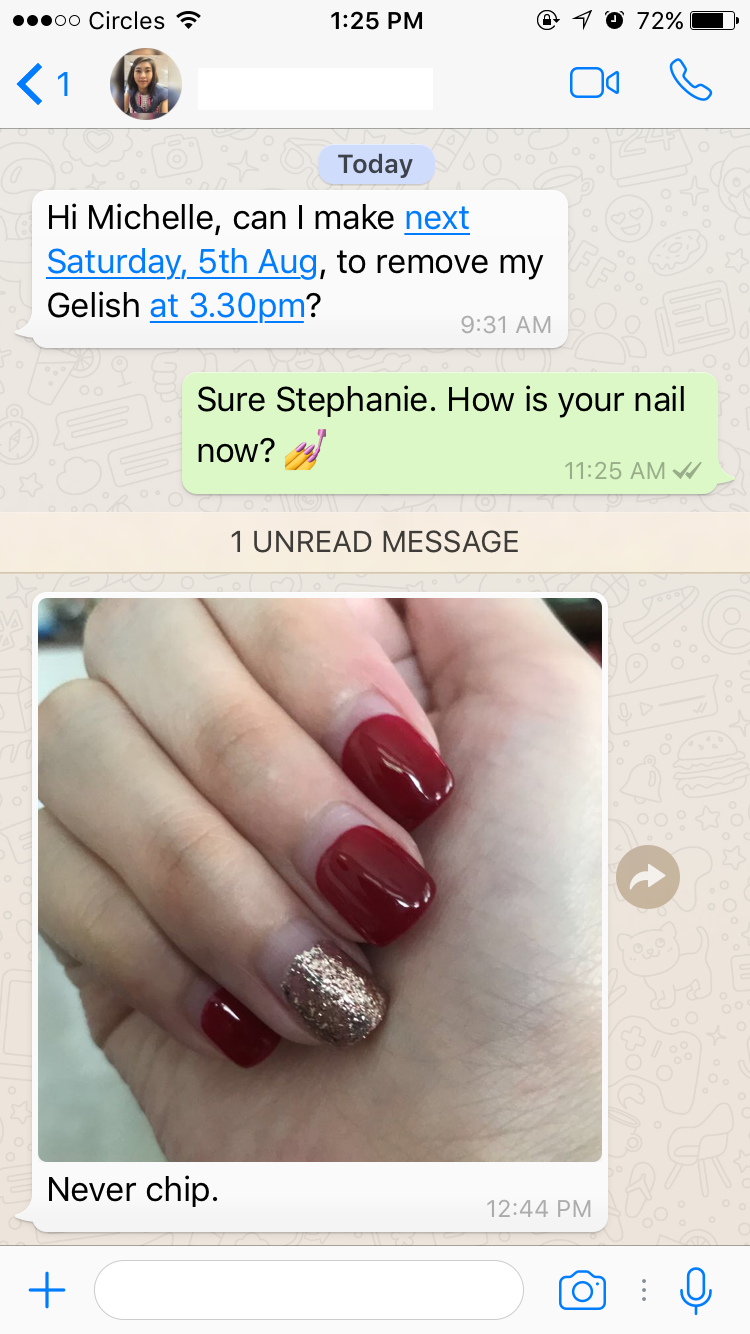 No chips on any nails after 6-8 weeks of application. — Nail Queen ...