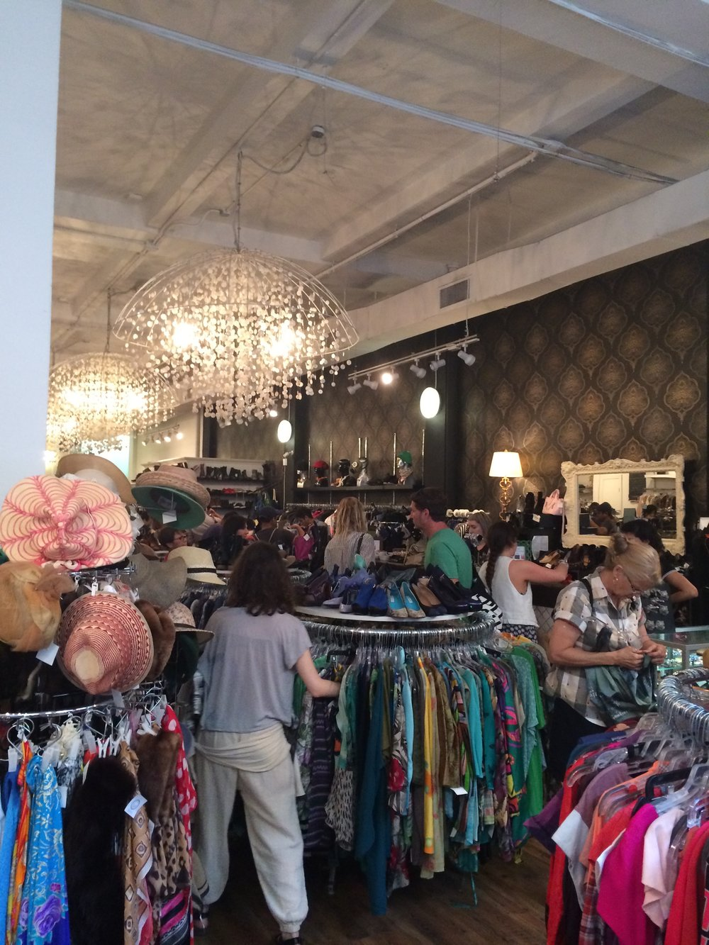 A thrift store I fell in love with in Manhattan called Beacon's Closet