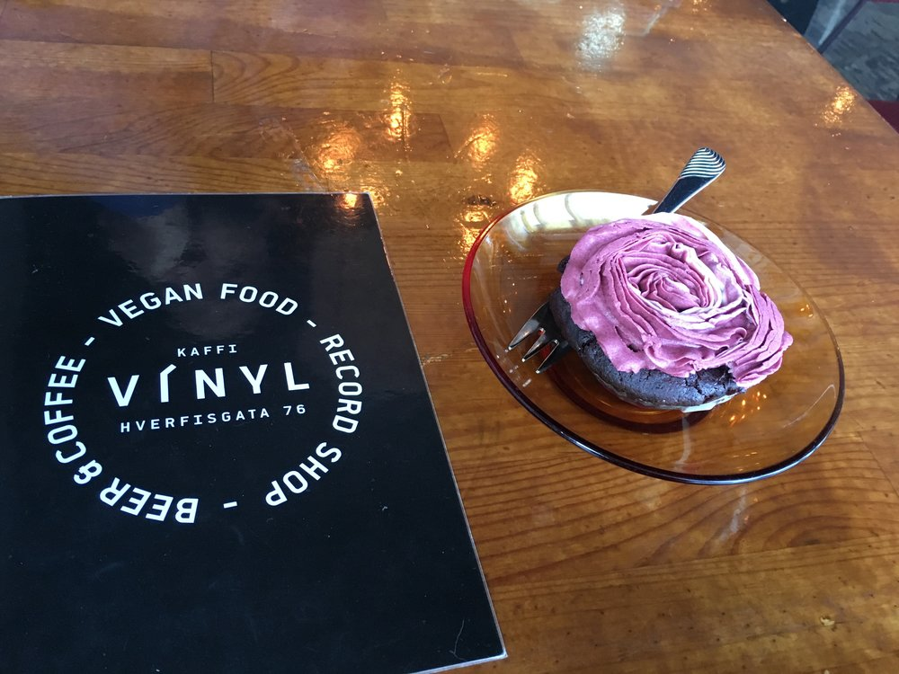 The vegan desserts were to die for - try the Red Velvet Cupcakes!