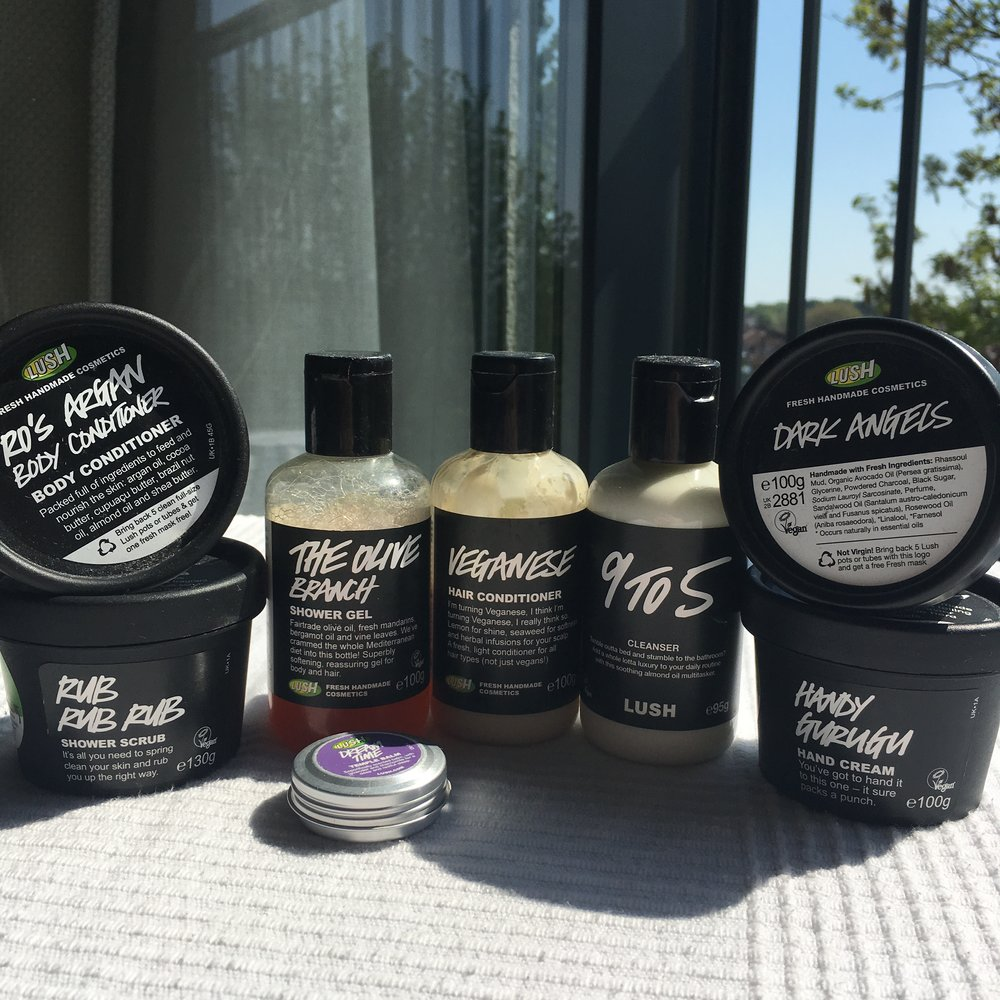 Is this a lot of Lush? Can there be too much Lush?? I need answers...