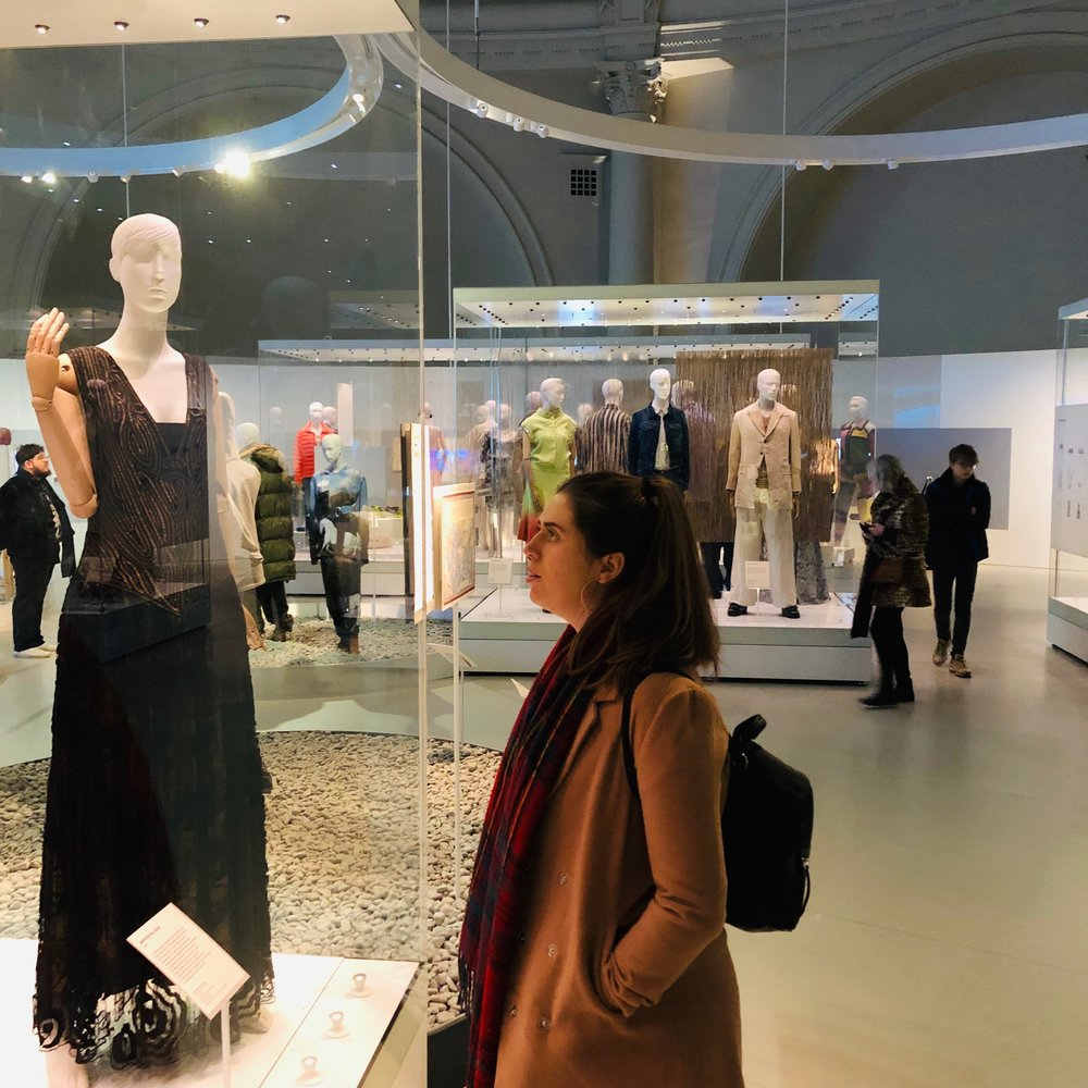 Nothing works like an exhibition to spark the imagination for a fashion blogger