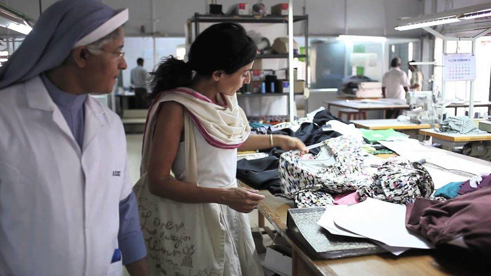 Safia Minney at Assisi Garments