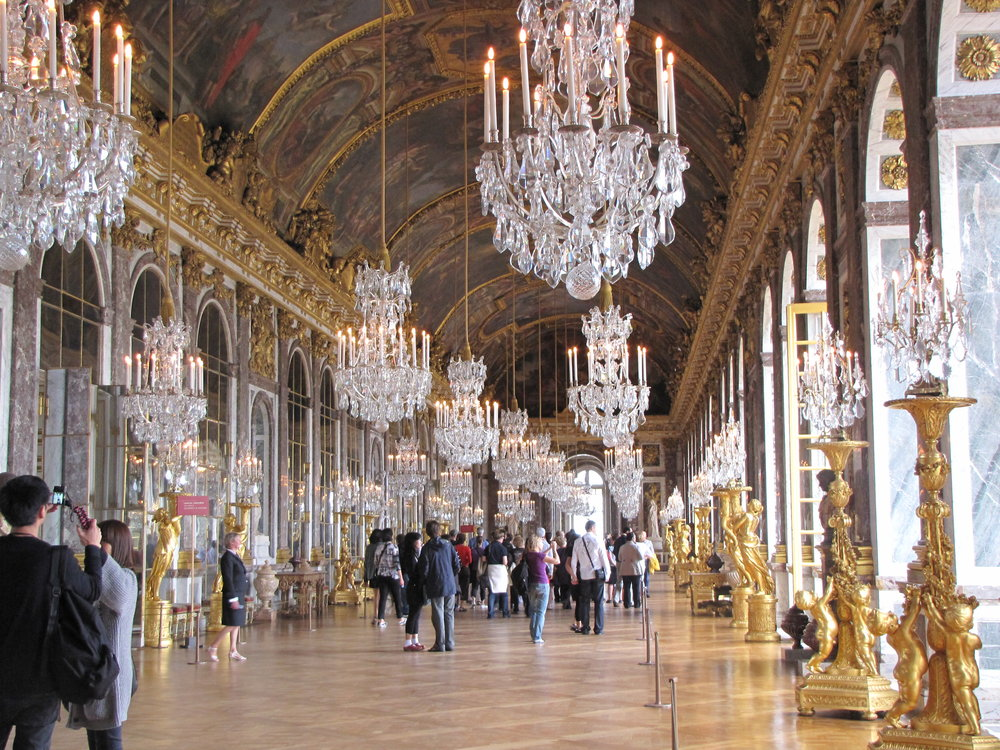 Hall of Mirrors, Versailles Palace