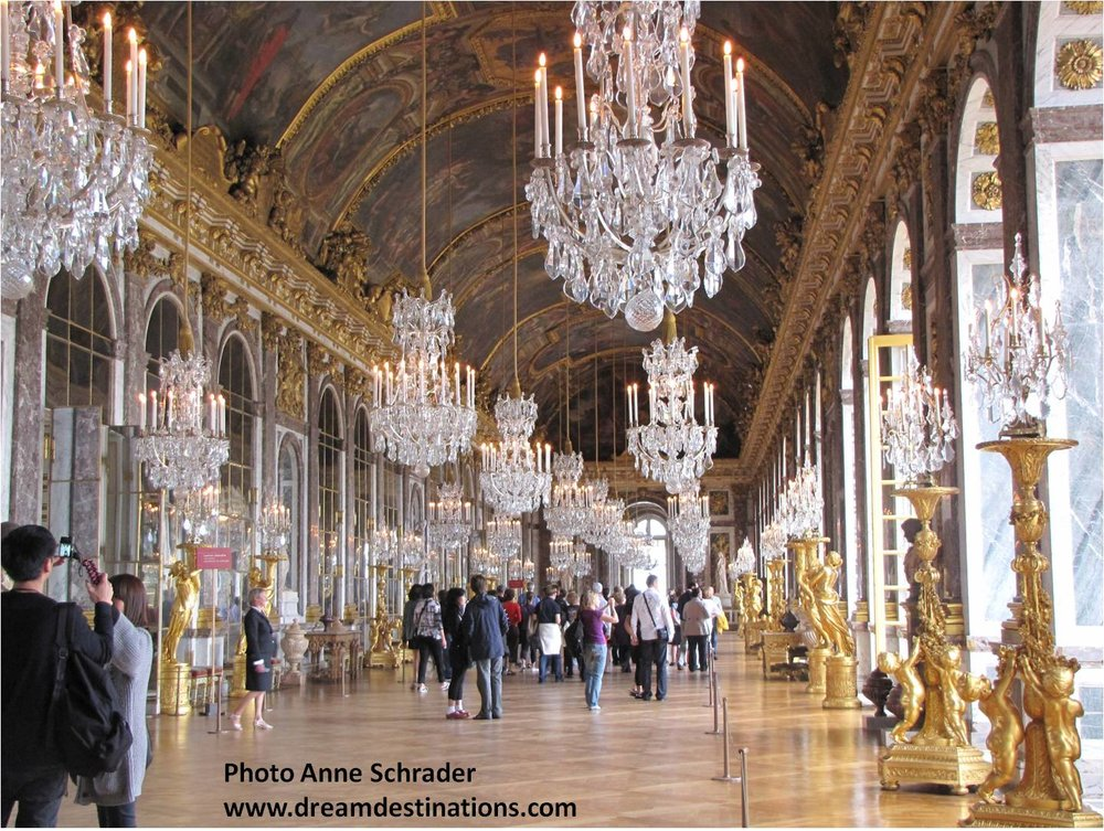 Hall of Mirrors, Versailles France