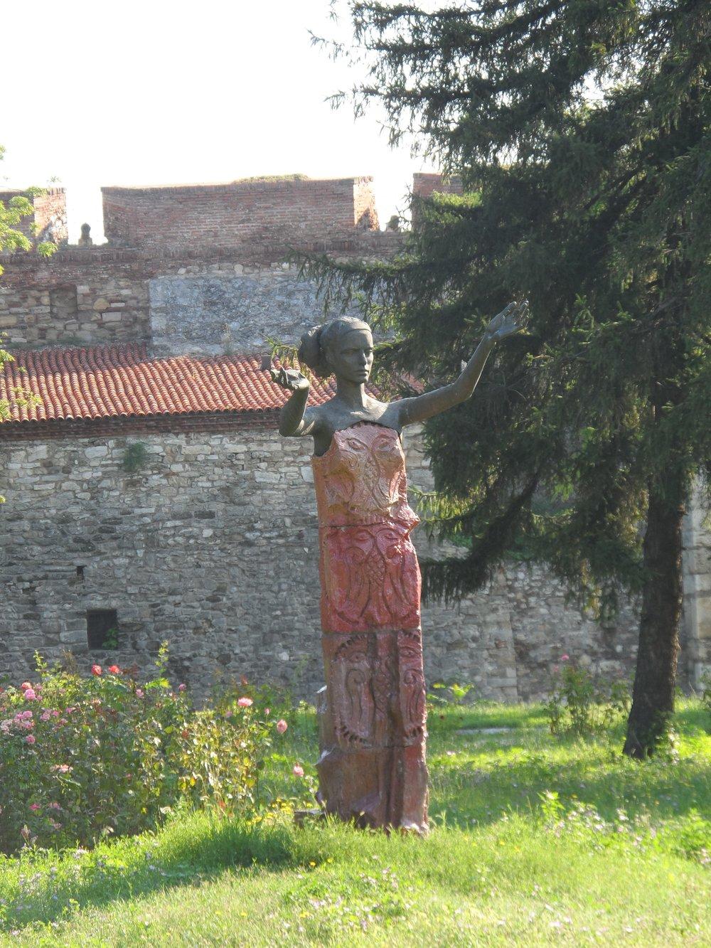 Baba Vida Statue, Bulgaria
