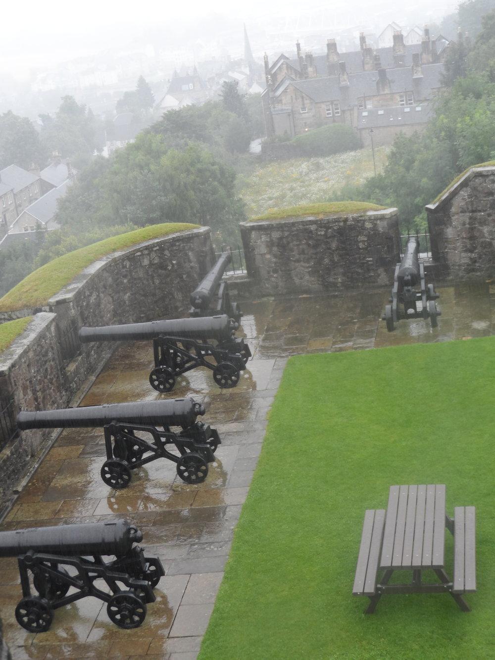 Stirling Castle Gun Battery
