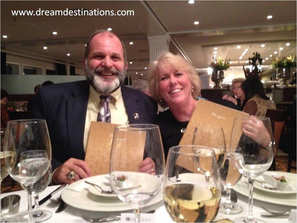 Anne & Hank Schrader, Visit Dream Destinations, LLC