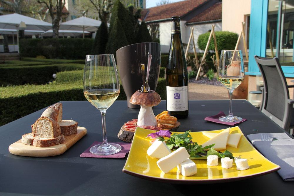 Wonderful food in Vienne, France