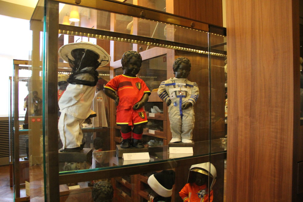 Some of the Costumes of Mannekin-Pis