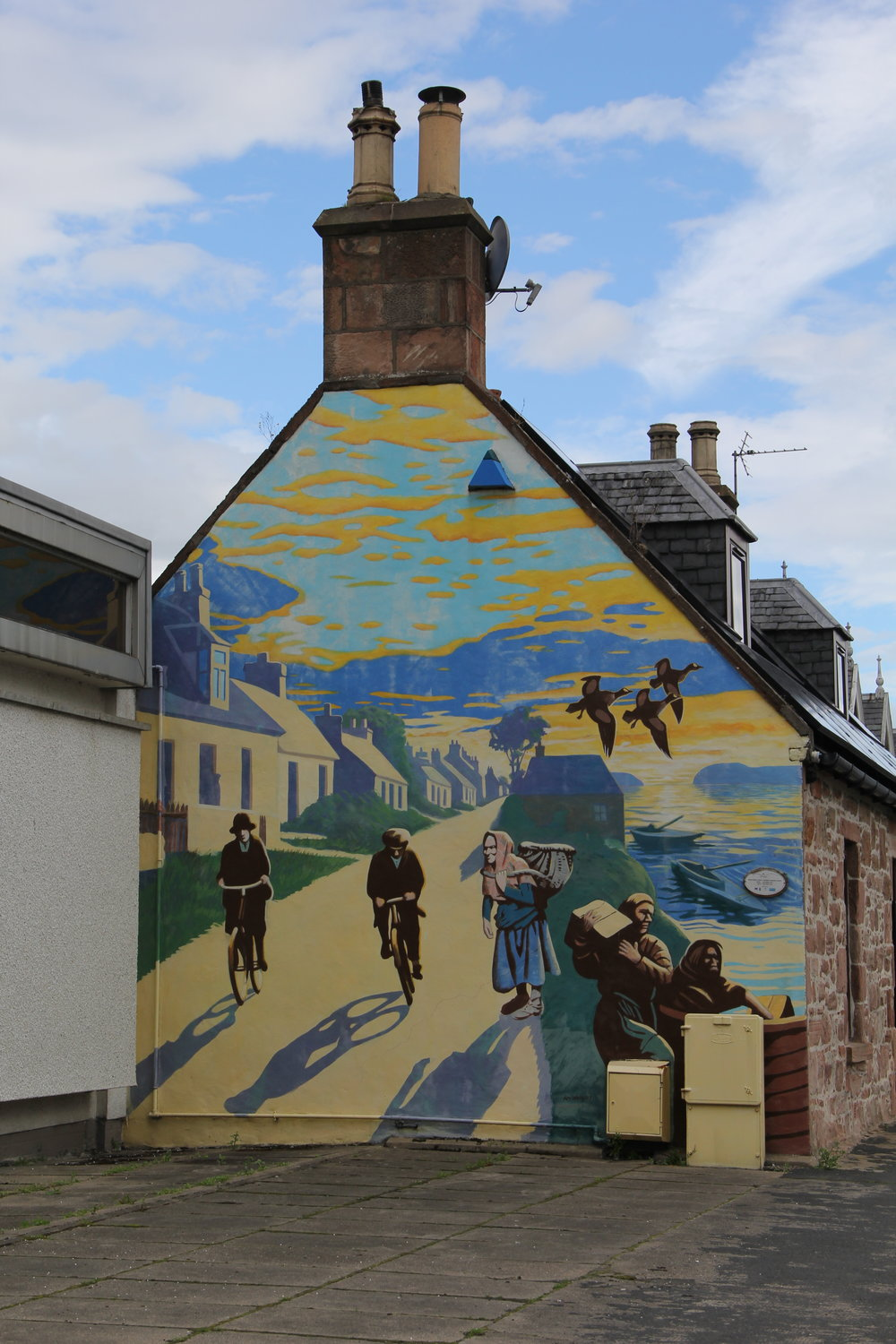 Scenes of the past from Saltburns—a sister town very near Invergordon