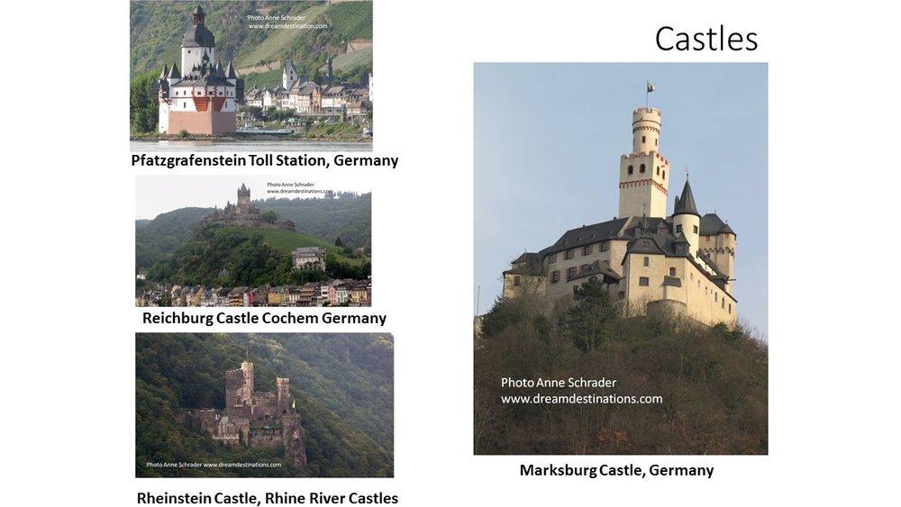 Rhine River Gorge Castles