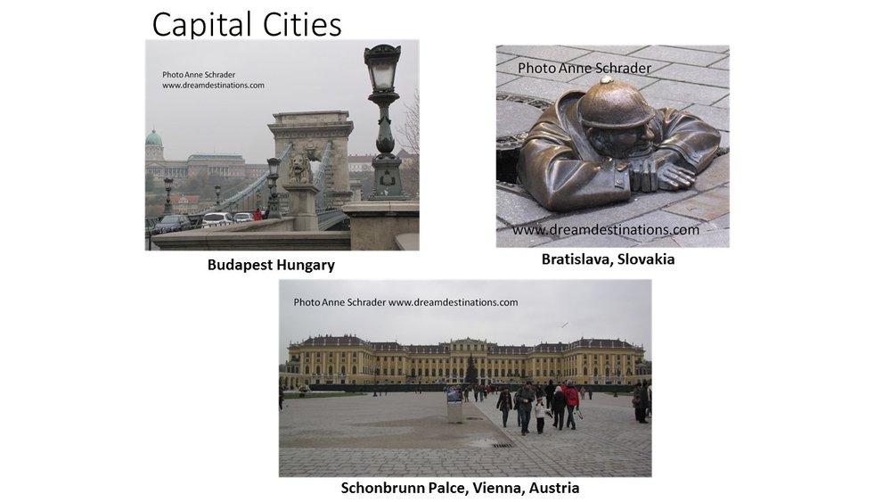 Upper Danube Capital Cities