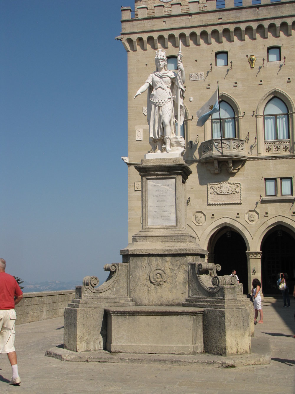 San Marino Main Square