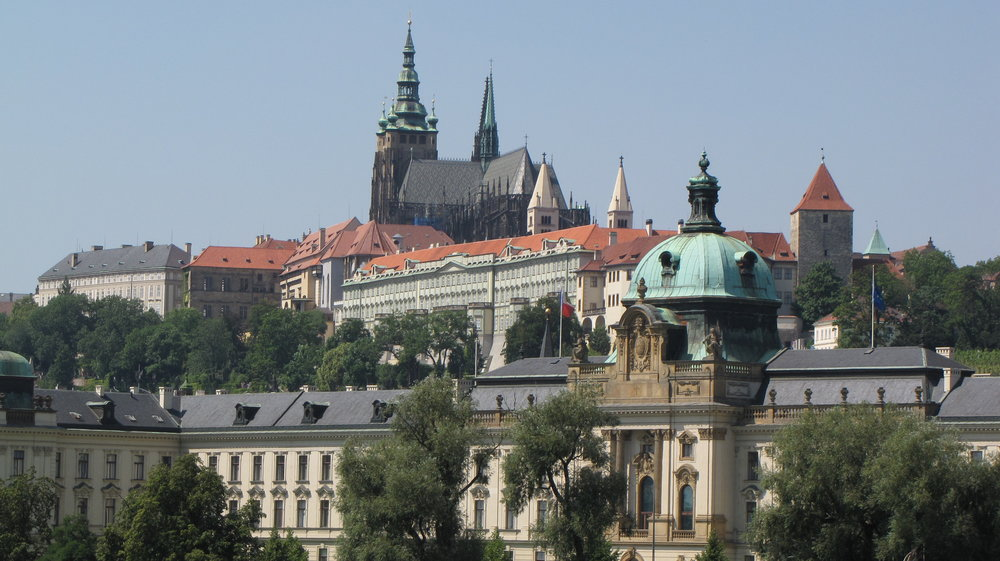 We had escorted folks to Prague on a post tour—it is a wonderful city!