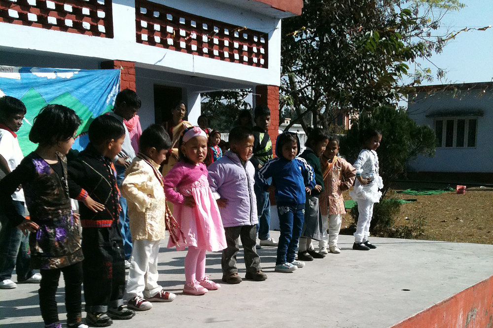 Local School Children's Cultural Dancing