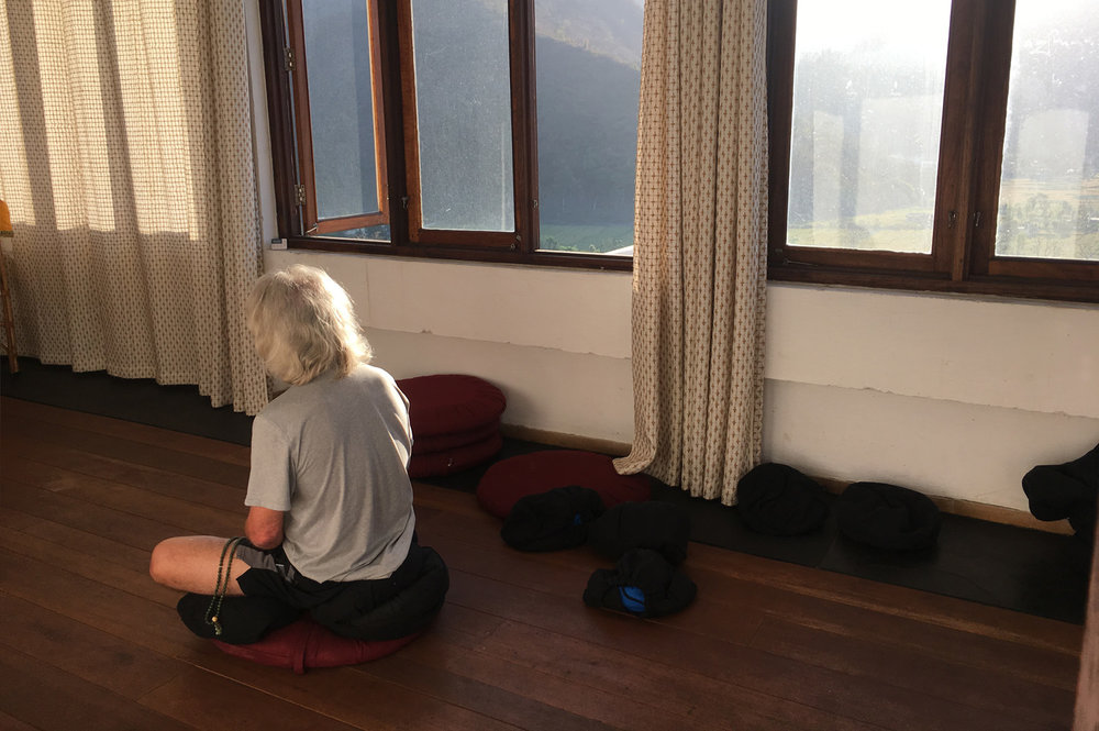 Meditation At The Tarab Ling Retreat Centre