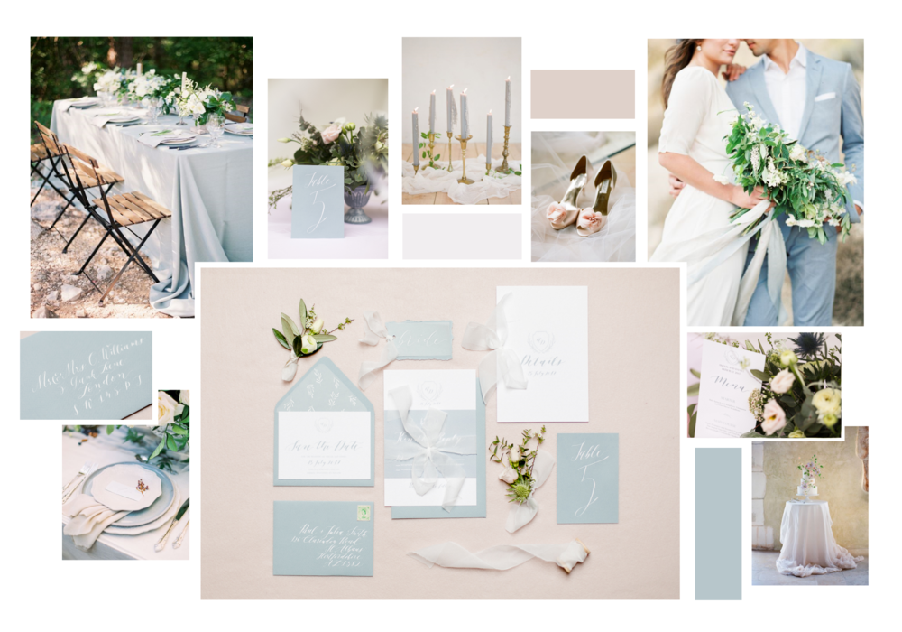 Heather Collection  Light Inspiration Board