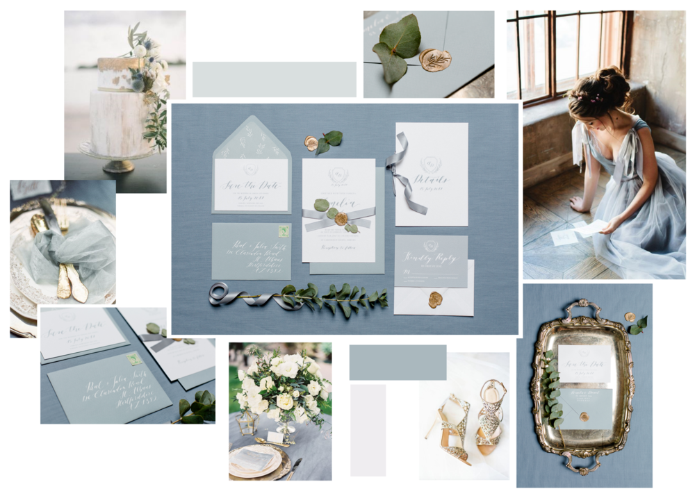 Heather Collection  Dark Inspiration Board