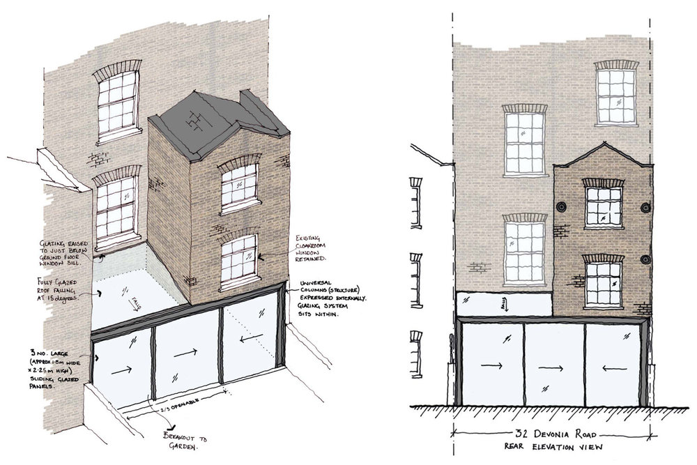 Project  - Devonia Road planning approval
