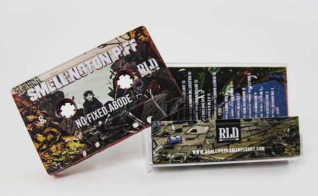 Ltd Edition Smellington Piff NFA Cassette. Out Now. Real..... Life...... Drama. Do your Googles!!