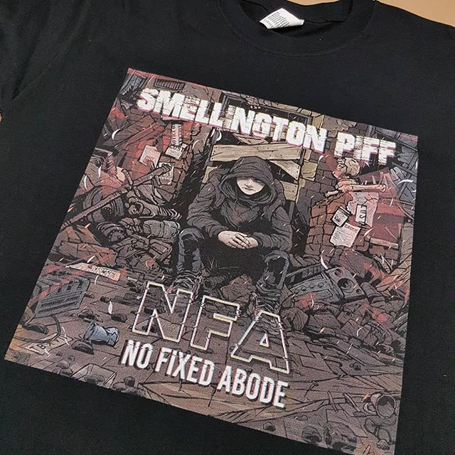Smellington Piff - NFA T Shirts Out Now! www.reallifedramarecords.com