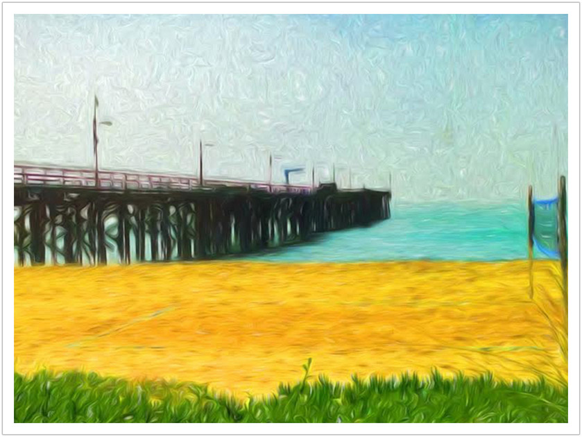 Goleta Beach Pier limited edition prints