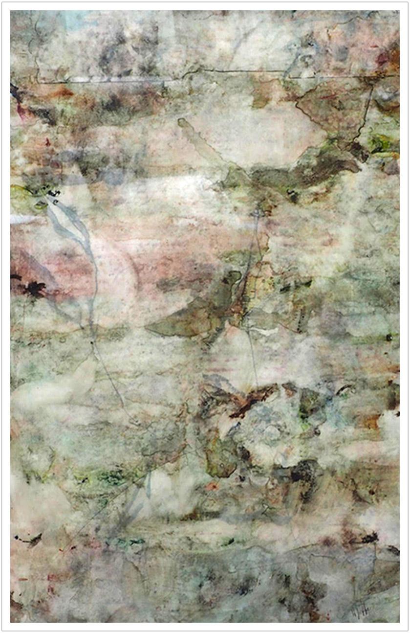 "River Durga III watercolor on yupo paper |23"" x 35"" | 2016"
