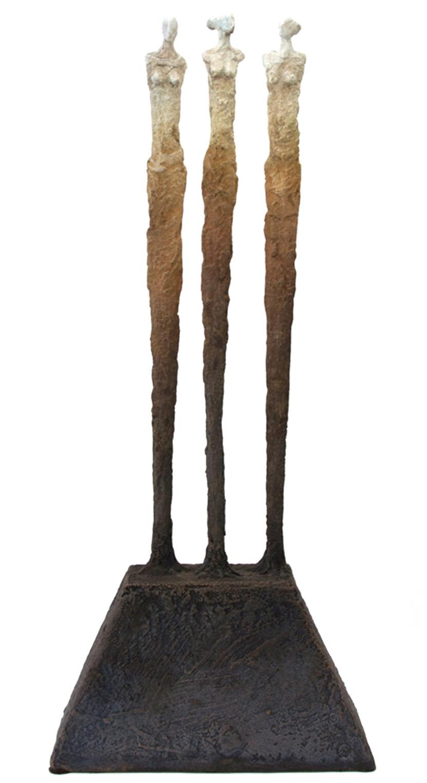 "Amistad bronze w/ patina (21/25) |16.5"" H"