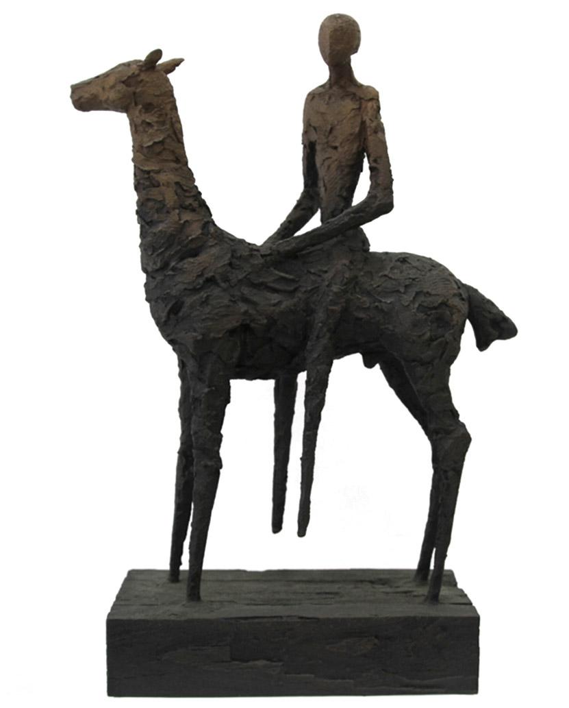 "Cavalier bronze w/ patina (3/12) | 25.5"" H"