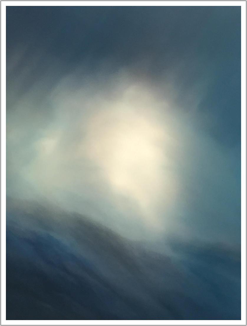 "Angel acrylic on canvas | 36"" x 48"""