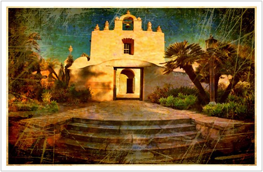 "Mt. Carmel limited edition print on canvas | 40"" x 25"""