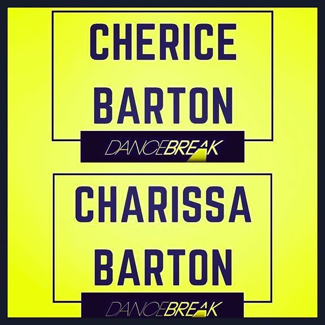 We are thrilled to announce that Cherice and Charissa Barton are two of the six chosen 2019 DanceBreak showcase choreographers! The show is on February 4th in NYC with an amazing line up of fellow @dancebreaknyc choreographers Stacey Tookey, Avihai Haham, Marc Kimelman & Paul McGill. Will be an amazing evening- hope to see you all there! #bartonsisters #broadway @charissabarton @chericebarton