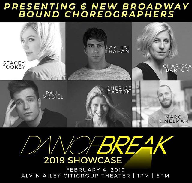 Here we go. Thank you, Melinda Atwood & @dancebreaknyc for your trust. 🙌🏻💪🏻😊