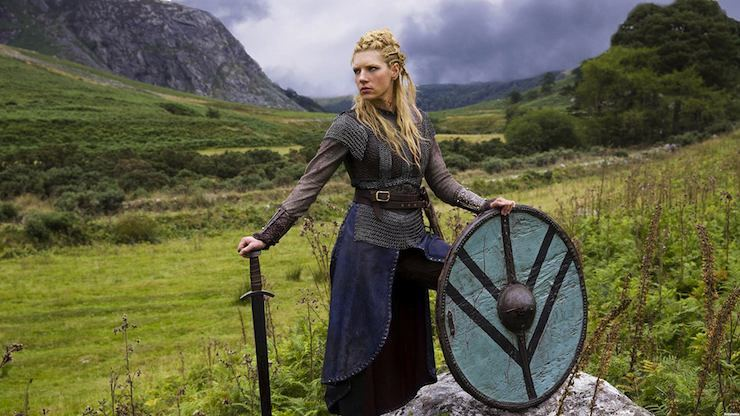 Depicted in multiple Viking sagas, the Shield Maiden were thought to be individual female warriors that fought alongside the Viking men on the Battle-Field. There can be no doubt that in order to survive and raise a family in the brutal environment of medieval Scandanavia, that the women needed to have a warrior mentality, even if evidence of female soldiers on the battlefield in scant.