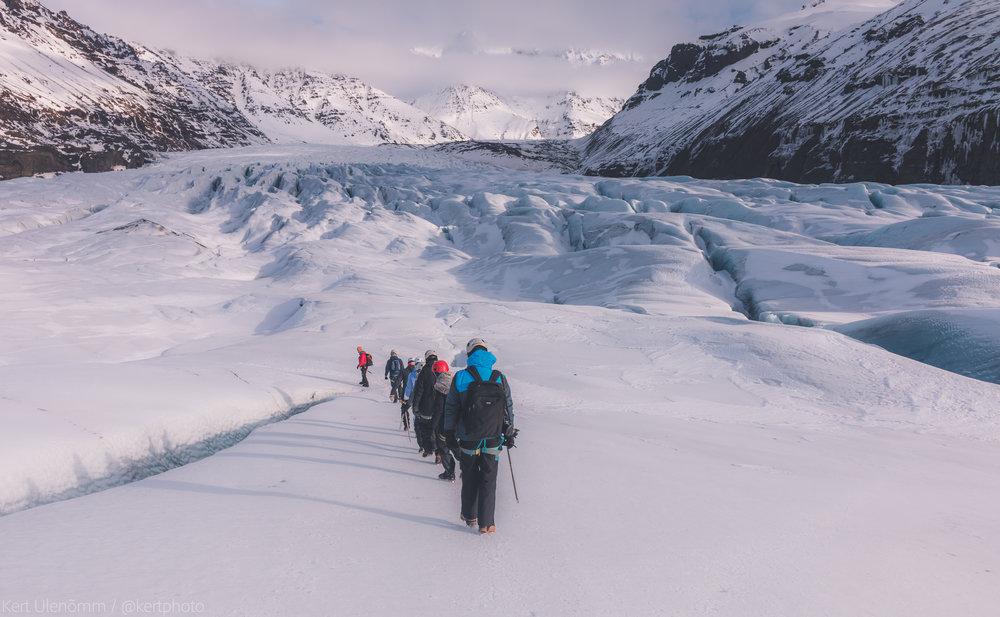 Svínafellsjökull - Iceland