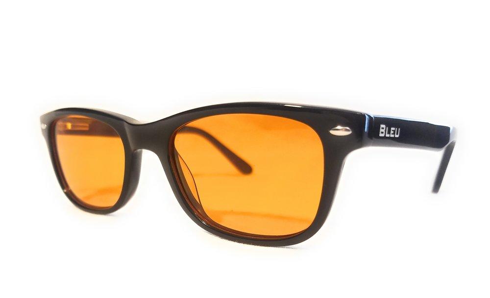 Black- 100% Bleu Light Blocking Glasses           - Now:$38.88Was:$100.00