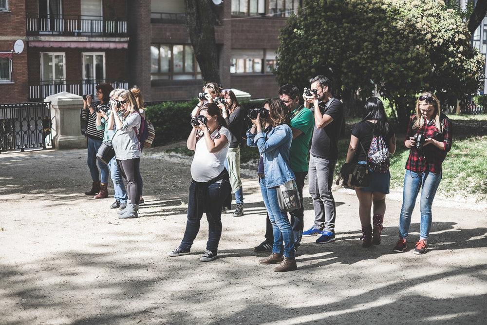 Curso de Iniciación a la Fotografía Digital en Guadalajara 1