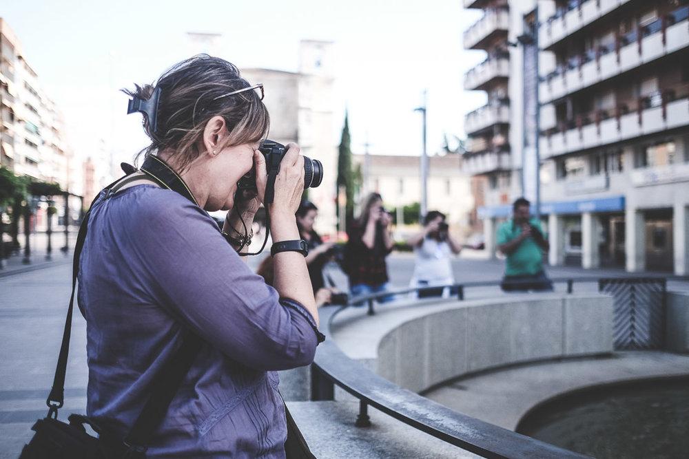 Curso de Iniciación a la Fotografía Digital en Guadalajara 2