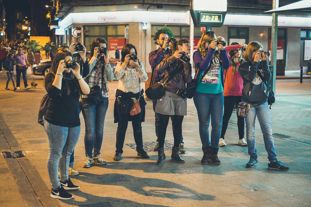 VIII Curso de Iniciación a la Fotografía Digital - Guadalajara 1
