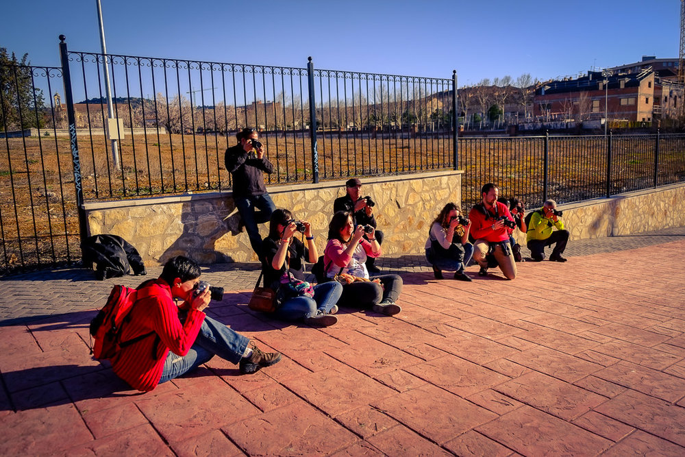 VI Curso de Iniciación a la Fotografía Digital - Guadalajara 2