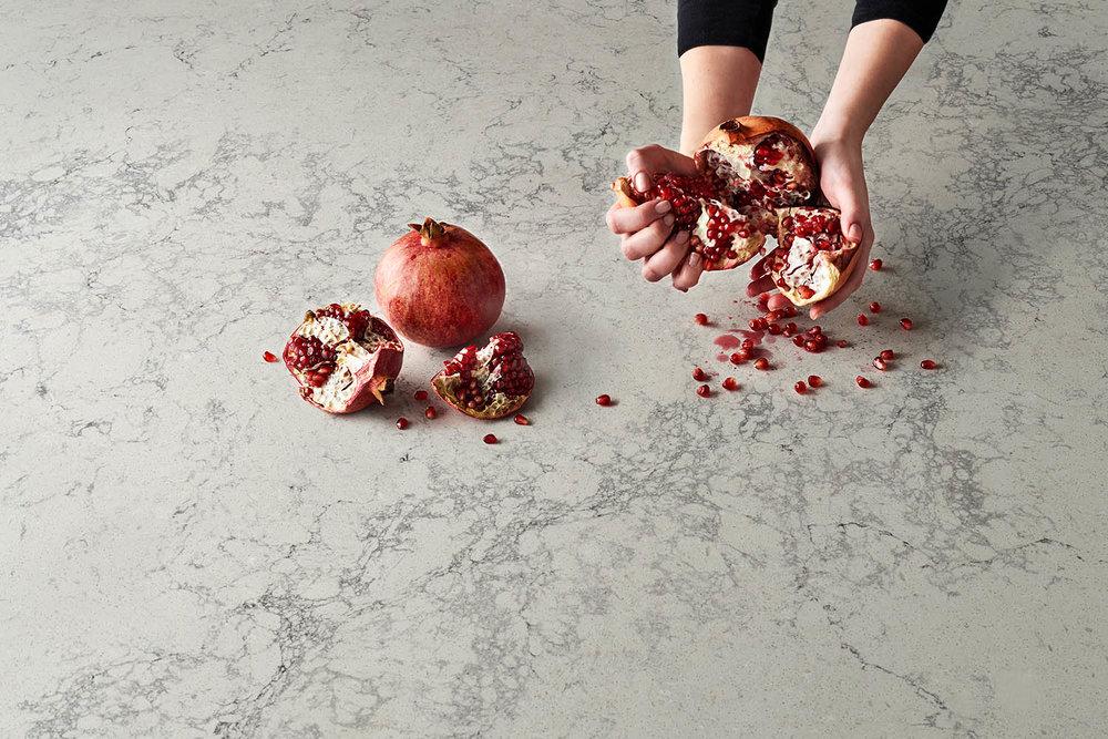 caesarstone•pomegranates