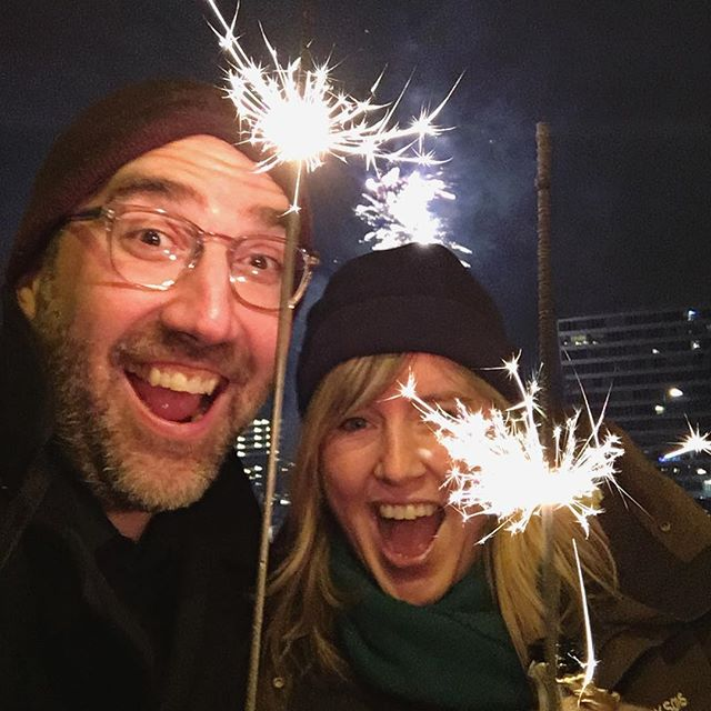 Happy New Year! (From the Amsterdam war sparkle zone 😬✨)
