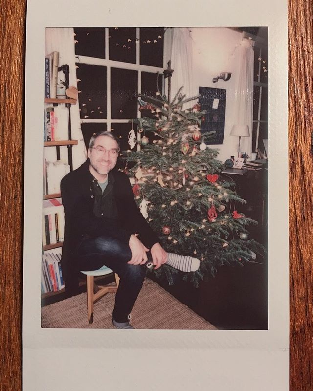 Hunky Nate and the tree 01.01.2019 #happynewyear