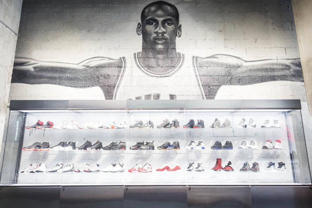 Jordan I-XXX. All OG everything.Photo by  @re.mark