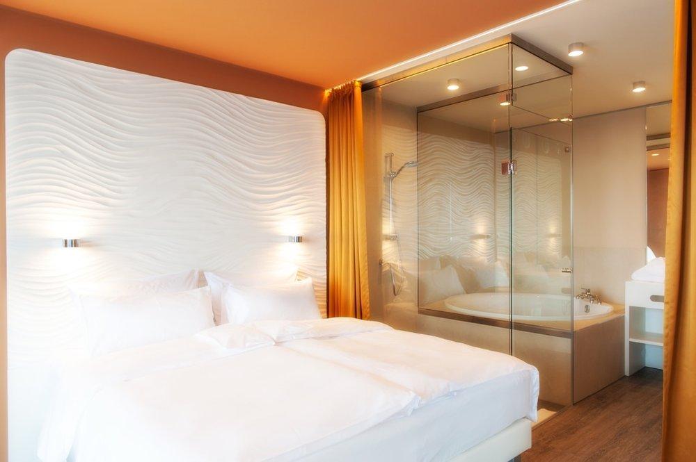 A-ja hotel Warnemünde, concept, product development, project lead,   @ dinnebier+blieske   with Seeger Müller architects, 2013  www.lichtlicht.de ,  www.blieske.de   Picture credits: a-ja Resort und Hotel GmbH