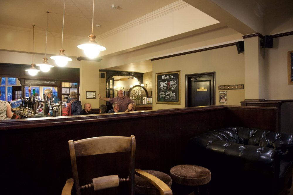 inside the Black Horse