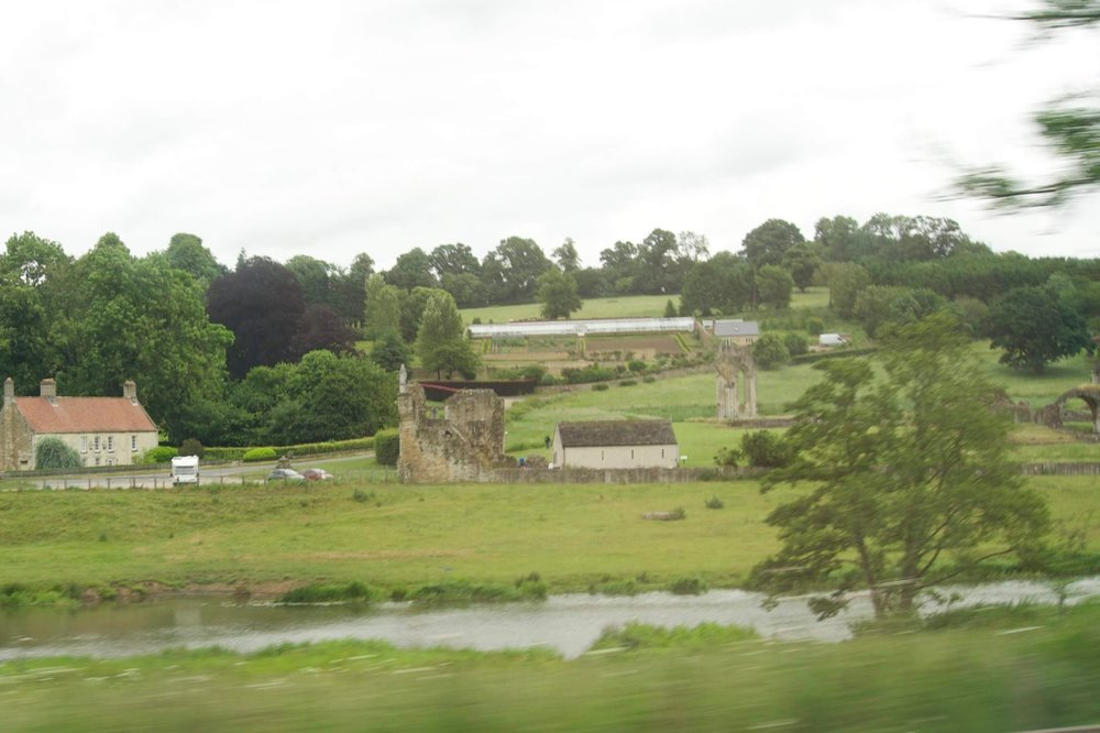 ancient farm between York and Scarborough