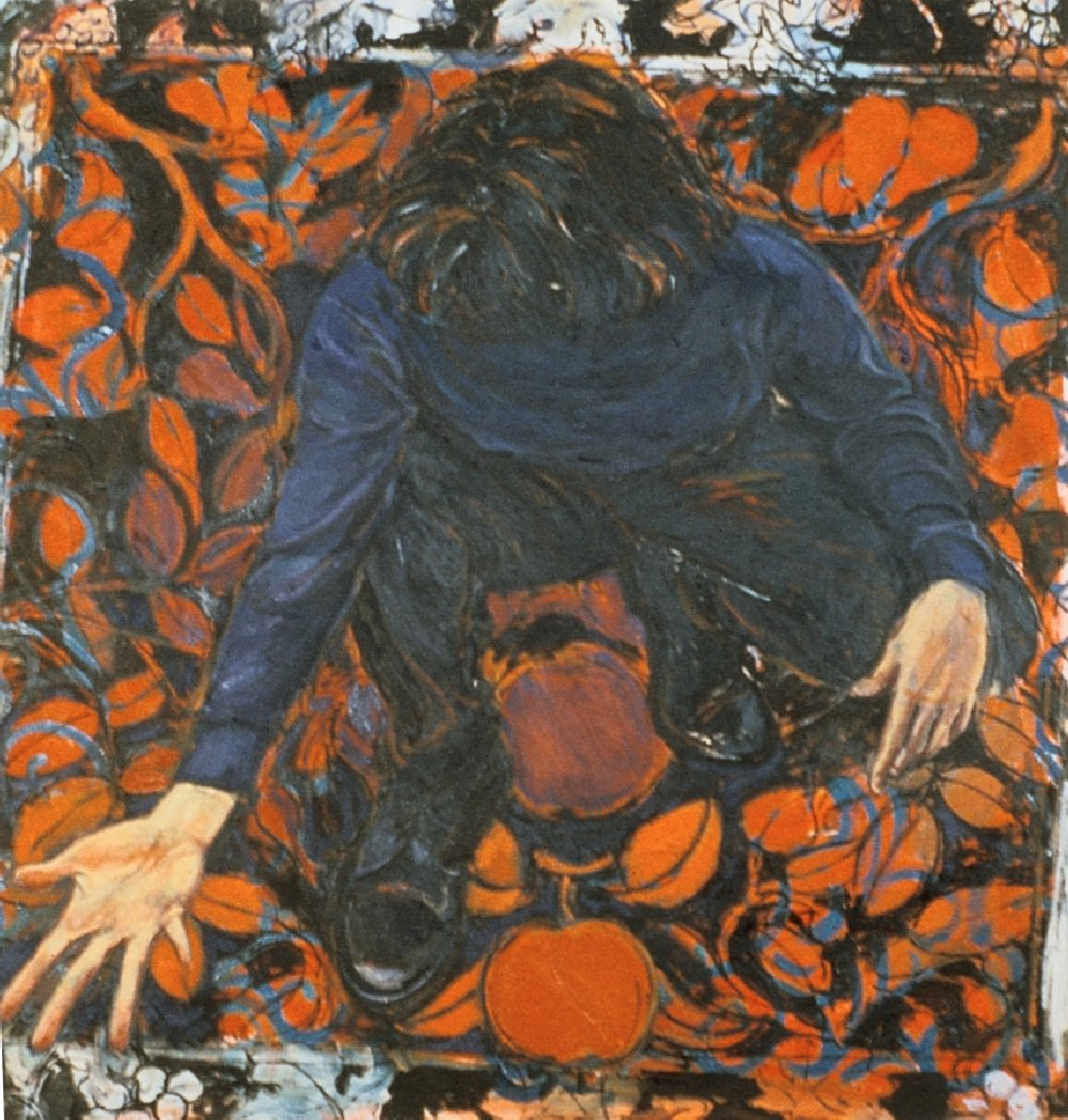 "Untitled, 36"" x 36"", oil on canvas, 1994"