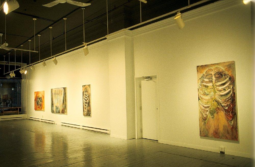Installation, Anna Leonowens Gallery, Halifax, Nova Scotia, 1988